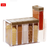 Spice Containers Seasoning Organizer